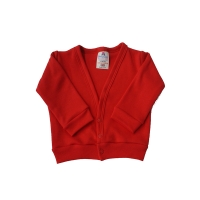 baby cardigan - red